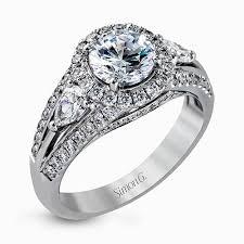 simon g engagement rings simon g engagement ring mr1506