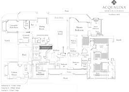 deluxe 3 bedroom miami oceanfront suites acqualina resort spa floorplan penthouse suite