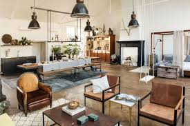 industrial interiors home decor apartment fancy industrial decor for apartment with black