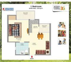 antriksh kanball 3g floor plan sector 77 noida