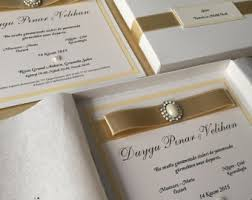 wedding invitations in a box invitation box etsy