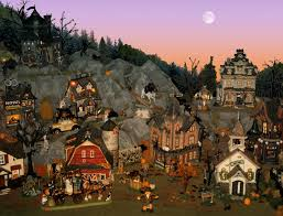 department 56 halloween village halloween village by minicarly on deviantart