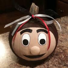 Brutus Buckeye Halloween Costume Freehandedly Painted Brutus Buckeye Pumpkin Bucks Ohio