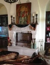 custom designed cantera stone fireplace in pinon color by rustico