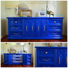blue furniture cobalt blue nautical custom order lacquer oversized dresser from the