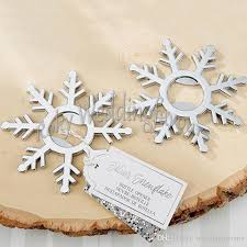 bottle opener favors silver snowflake bottle openers bridal shower wedding favors