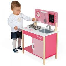 janod cuisine en bois cuisinière en bois mini cuisine mademoiselle jeux et jouets