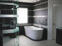 Contemporary Modern Bathroom Tile In Design Ideas - Designer bathroom tile