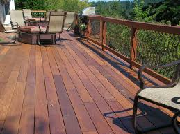 Best Wood For Outdoor Table by Preserving Your Wood Deck In Springtime
