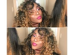 ombre crochet braids crochet braids tutorial kotton kandy ombre hair