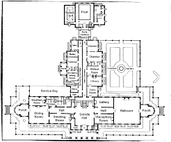 Floor Plan Of A Church by Horace Trumbauer U0027s Lynnewood Hall Is Back On The Market For 17 5m