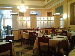 etched glass doors in dining room picture of ambassador hotel