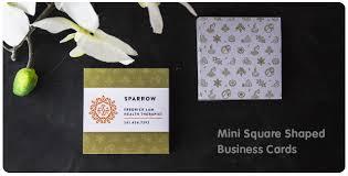 mini square business cards jukebox print