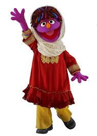 Muppet Halloween Costumes Sesame Street Muppet Afghanistan Promotes Girls U0027 Rights