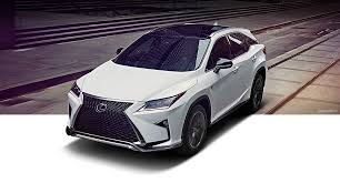lexus fuel requirements 2017 lexus rx luxury crossover performance lexus com