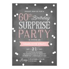 60th birthday invitations u0026 announcements zazzle co uk