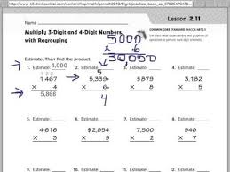 go math 2 11 multiplying 3 and 4 digit numbers youtube