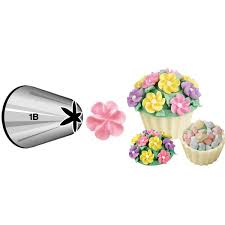 flower decorating tips buy wilton xl drop flower decorating tip 1b carded online in
