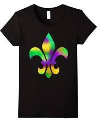 mardi gras tie amazing deal on womens mardi gras tie dye fleur de lis new orleans
