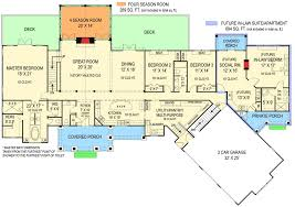 floor plans with inlaw apartment plan 12277jl rustic ranch with in suite bonus rooms sitting