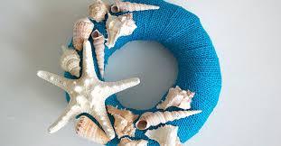 seashell wreath create this simple seashell wreath for summer the dollar tree