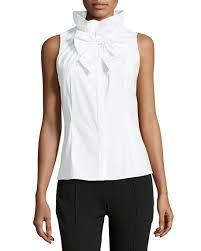sleeveless ruffle blouse studio 148 by lafayette 148 york clarissa sleeveless oxford