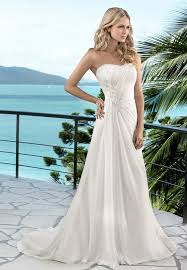 summer wedding dresses a line summer wedding dress with strapless sweetheart neckline