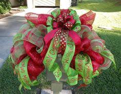 Christmas Mailbox Decoration Ideas Christmas Mailbox Swag Mailbox Decor Red And By Williamsfloral