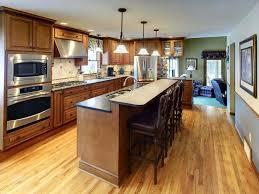 one wall kitchen with island designs kitchen floor plans island design ideas furniture fancy