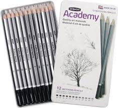 derwent academy sketch pencil set 6b to 5h price in saudi arabia