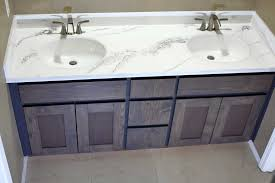 how to paint existing bathroom cabinets how to refinish bathroom vanity top with diy epoxy resin
