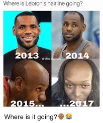 Lebron James Hairline Meme - 25 best memes about lebron hairline lebron hairline memes