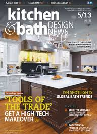 yankee barn homes is featured in kitchen and bath design news magazine