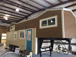 tiny house on wheels thow beach color theme dual two