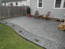 Stamped Concrete Patio Maintenance House Tour Off Boulevard Poured Concrete Patio Stamped Concrete