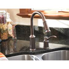 moen 7590 aberdeen 1 handle kitchen faucet with pullout spout