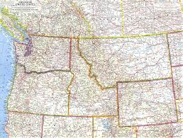 map usa northwest northwestern united states map