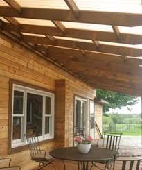 How To Build A Pergola Roof by Instructions On How To Build A Deck Roof Outdoor Living