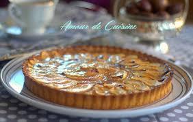 cuisine tarte aux pommes tarte aux pommes a la creme de marron amour de cuisine
