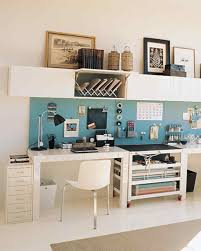 Office Desk Storage Clever Office Shared Space Martha Stewart