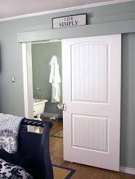 sliding bathroom barn door 5 questions to ask before installing a
