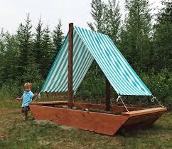 Backyard Sandbox Ideas Ana White Sail Boat Or Ship Sandbox Diy Projects