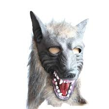 latex masks halloween popular latex wolf mask buy cheap latex wolf mask lots from china