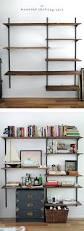 Mainstays 5 Shelf Bookcase Alder Bookcase Bookcase Adjustable Shelf Hardware Kv Steel Shelf