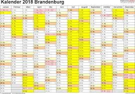 Ferienkalender 2018 Bw Ferien Brandenburg 2018 übersicht Der Ferientermine