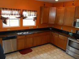 Best GraniteLight Wood Cabinets Images On Pinterest Light - Medium brown kitchen cabinets