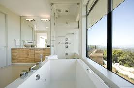 soaker tubs in bathroom contemporary with fiberglass tub shower