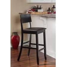 Black Leather Bar Stool Leather Bar U0026 Counter Stools Shop The Best Deals For Nov 2017