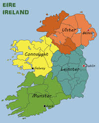 Blank Map Of Ireland by Map Ireland
