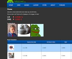 Website With Memes - new meme trading website has launched overall growth of meme